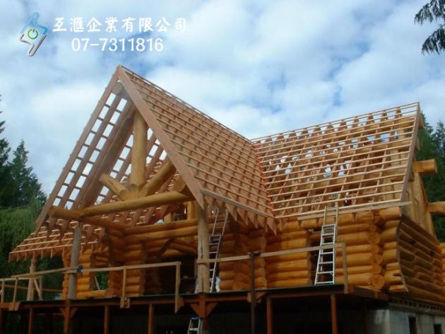 木結構屋頂_隔熱 1